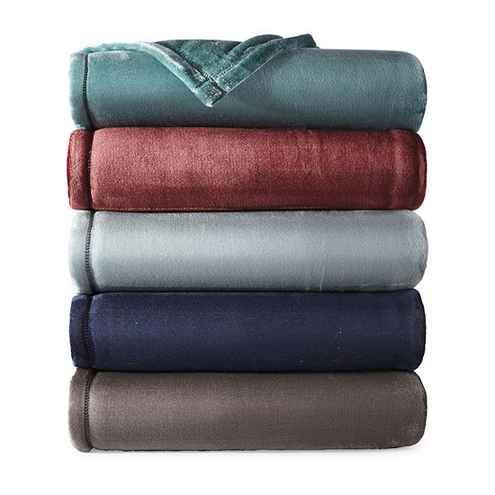 Home Expressions Velvet Plush Throw