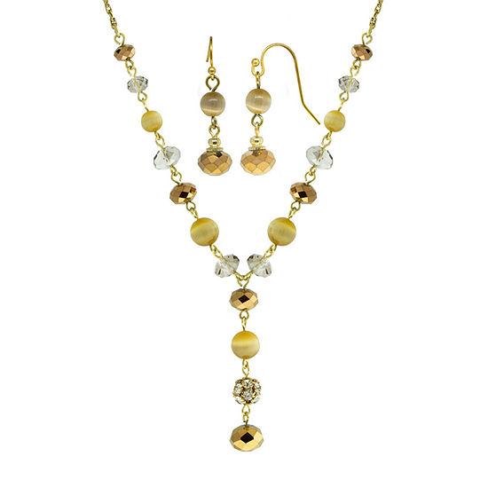 1928 Yellow 2-pc. Jewelry Set