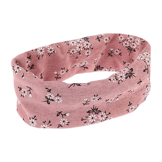 Mixit Pink Floral Hair Wrap
