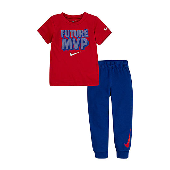 Nike Toddler Boys 2-pc. Logo Pant Set