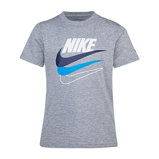 Nike - Little Kid Boys Round Neck Short Sleeve Graphic T-Shirt