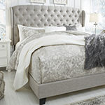 Signature Design by Ashley® Jeralyn Upholstered Wing Back Bed