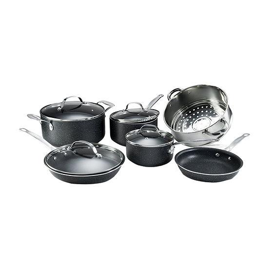 Granite Stone 10-pc. Aluminum Non-Stick Cookware Set