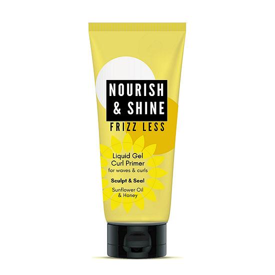 Nourish And Shine Liquid Primer Hair Gel-8 oz.