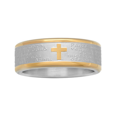 Spanish Lord's Prayer Band Stainless Steel