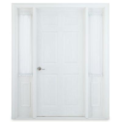 """Liz Claiborne® Lisette 47"""" Rod-Pocket Sheer Sidelight Panel"""