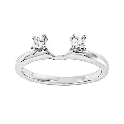 Diamond Accent 14K White Gold Ring Wrap