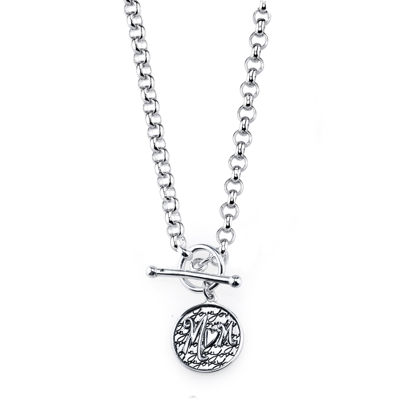 Inspired Moments™ Sterling Silver Mom Necklace