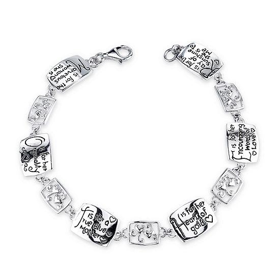 Inspired Moments Sterling Silver Mother Bracelet
