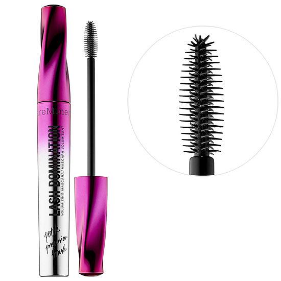 bareMinerals LASH DOMINATION® Volumizing Mascara Petite Precision™ Brush