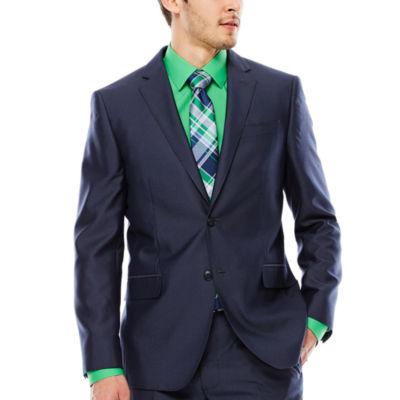 JF J. Ferrar® Shimmer Shark Suit Jacket - Slim Fit