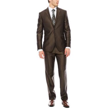 jcpenney.com | JF J. Ferrar® Brown Shimmer Slim-Fit Suit Separates