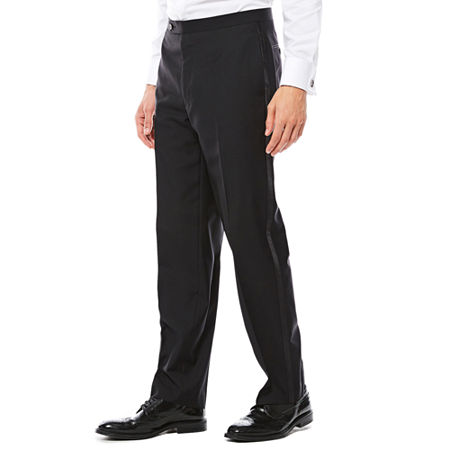 1920s Men's Evening Wear History: Tuxedos to Tailcoats Collection by Michael Strahan Tuxedo Pants 29 32 Black $32.49 AT vintagedancer.com