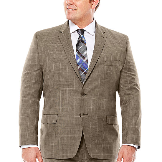 Collection by Michael Strahan Tic Plaid Jacket - Big & Tall