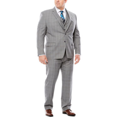 jcpenney.com | Collection by Michael Strahan Plaid Suit Jacket or Pants - Big & Tall