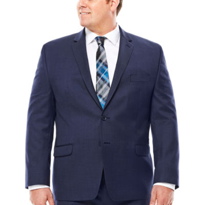 Collection by Michael Strahan Navy Tic Jacket - Big & Tall