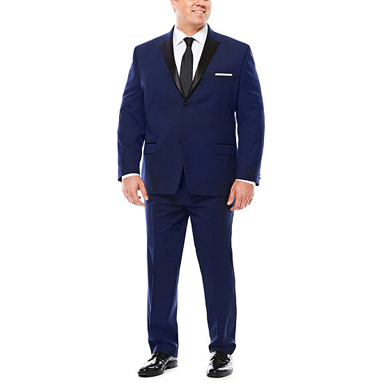 Collection By Michael Strahan Satin Peak Tuxedo Suit Jacket Or Pants Big Tall