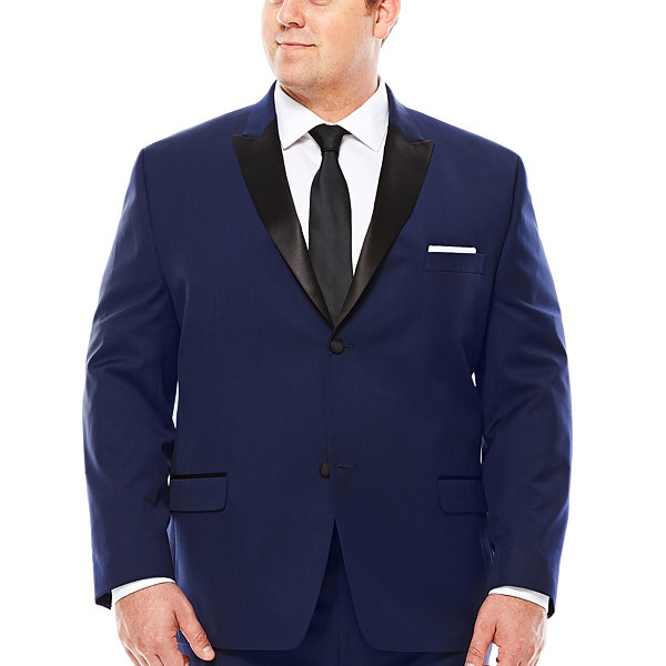 Collection by Michael Strahan Satin Peak Tuxedo Jacket - Big & Tall