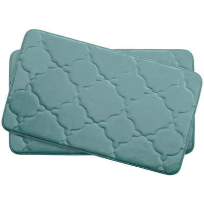 "Bounce Comfort Dorothy Memory Foam 17x24"" 2-pc. Bath Mat Set"