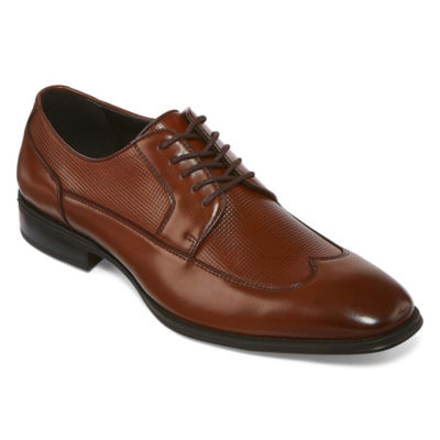 Collection by Michael Strahan  Mens Bel Air Oxford Shoes Lace-up Wing Tip