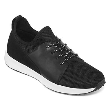 Collection by Michael Strahan Todd Mens Lace-up Running Shoes (Black)