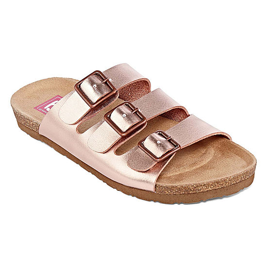 7689a829c Pop Zuri Womens Adjustable Strap Footbed Sandals - JCPenney
