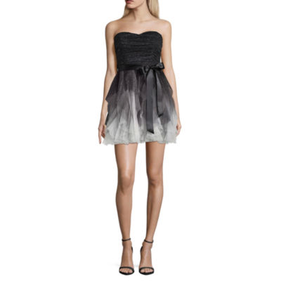 Social Code Sleeveless Embellished Party Dress-Juniors