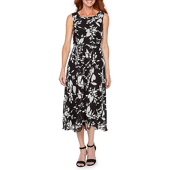 bb52fc67 Black Label by Evan-Picone Sleeveless Floral Sheath Dress - JCPenney