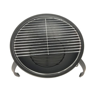 ALEKO Classic Round Steel Fire Pit Kit with Flame Retardant Lid and Poker