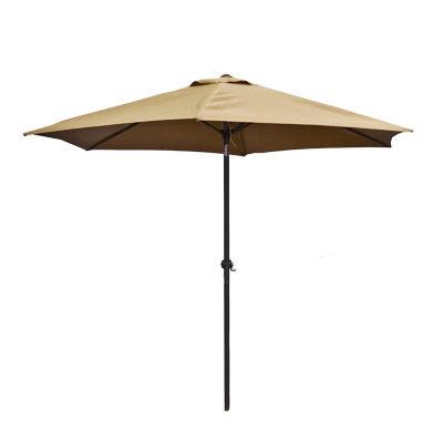 ALEKO Adjustable Waterproof Polyester Garden Patio Steel Umbrella
