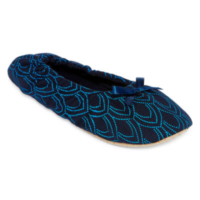 Mixit Ballerina Slippers with Travel Pouch