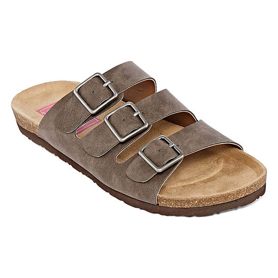 c7f52d5b376 Pop Zuri Womens Adjustable Strap Footbed Sandals - JCPenney