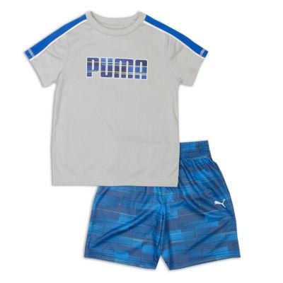 Puma 2-pc. Short Set- Preschool Boys