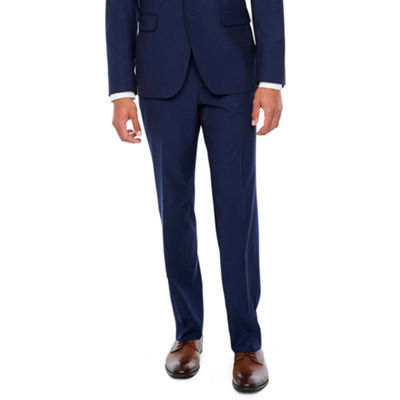 JF J.Ferrar Blue Stretch Pulse Slim Fit Stretch Suit Jacket