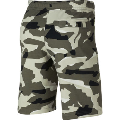 Nike French Terry Camo Shorts