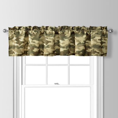 Cadet Rod-Pocket Tailored Valance