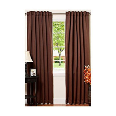 ALEKO Thermal Insulated Blackout Curtain Panel Set