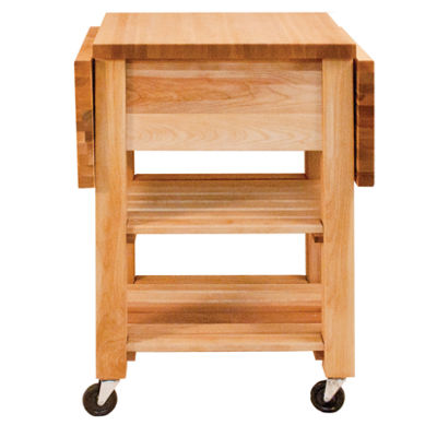 Deep Drawer Double Drop Leaf Cart