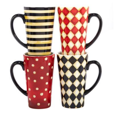 Certified International Coffee Always 4-pc. Coffee Mug