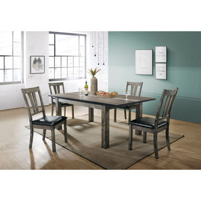 Drexel 5-pc. Dining Set with 4 Cushioned Chairs