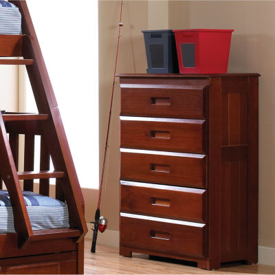 5-Drawer Chest with Recessed Pulls