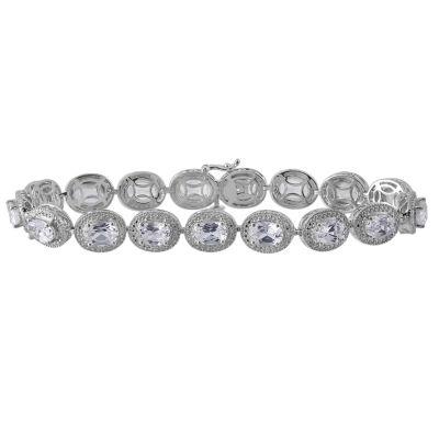 Sterling Silver 8 Inch Oval Link Bracelet