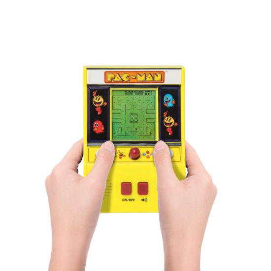 Pac Man Electronic Hand-Held Game