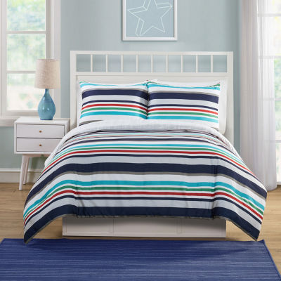 Victoria Classics Cosmic Stripe Stripes Comforter Set