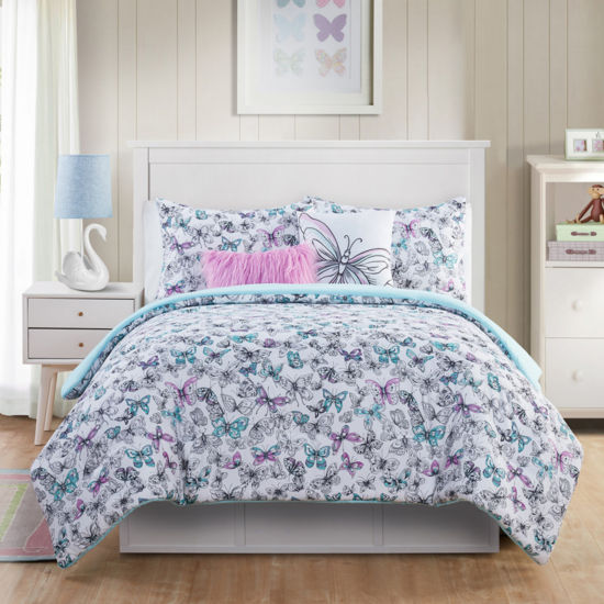 VCNY Fly Free Midweight Comforter Set