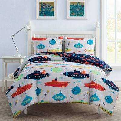 VCNY Submarine Comforter Set
