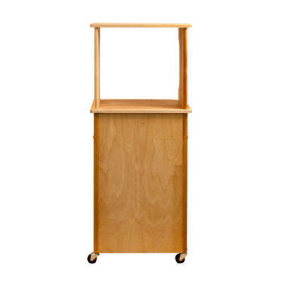 Hutch Top Cart with Open Shelf