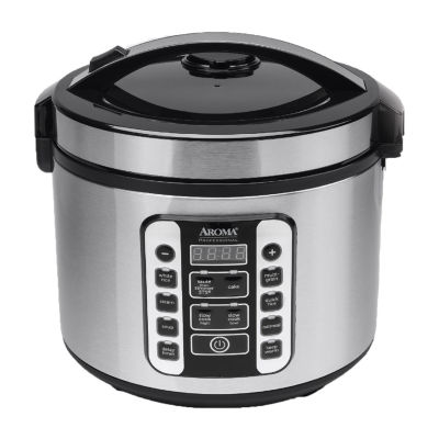 Aroma ARC-1020SB 20-Cup Digital Cool-Touch Rice Cooker & Food Steamer