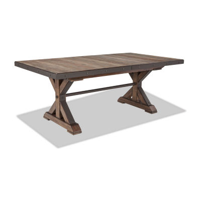 Taos Rectangular Trestle Table