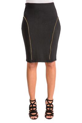 Poetic Justice Ponte Pencil Skirt